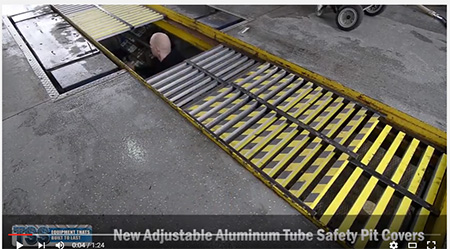 Quick Lube Safety Pit Cover - Aluminum hd